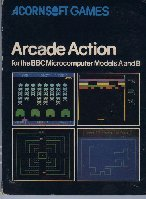 Arcade Action box cover