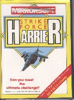Strike Force Harrier box cover