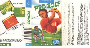 Pro Golf box cover