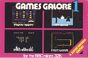 Games Galore box cover