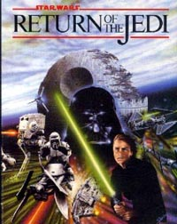 Return Of The Jedi box cover