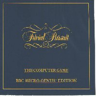 Trivial Pursuit box cover
