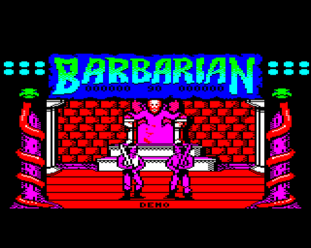 Barbarian screenshot